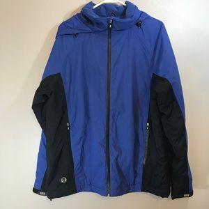 Lands End Waterproof Jacket Size M/38-40